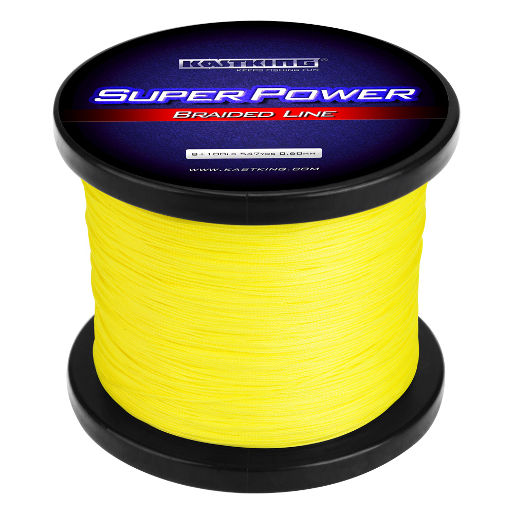 STRONG KNOT STRENGTH Superpower Braided Fishing Lines Incorporated Strands lot